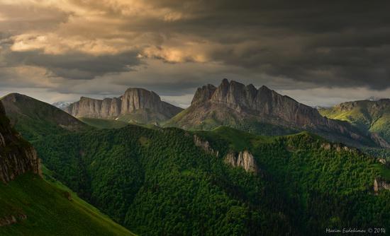 The beauty of the mountainous Adygea, Russia, photo 11