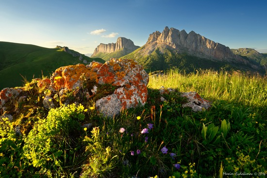The beauty of the mountainous Adygea, Russia, photo 12