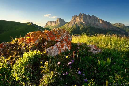 The beauty of the mountainous Adygea, Russia, photo 12