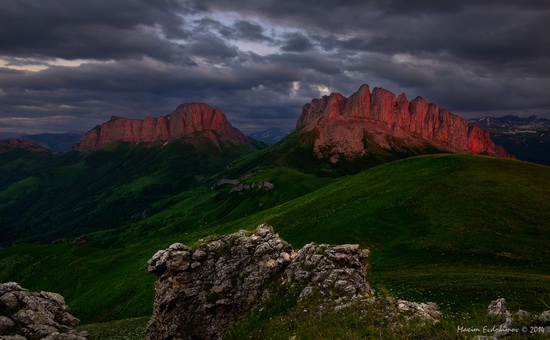 The beauty of the mountainous Adygea, Russia, photo 13