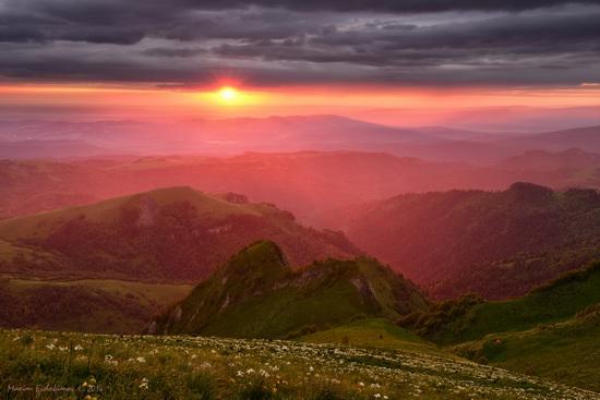 The beauty of the mountainous Adygea, Russia, photo 14