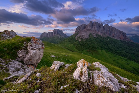 The beauty of the mountainous Adygea, Russia, photo 4