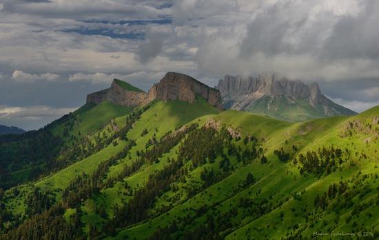 The beauty of the mountainous Adygea, Russia, photo 5