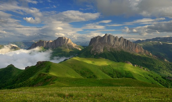 The beauty of the mountainous Adygea, Russia, photo 7