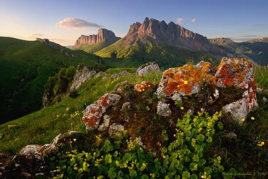 The beauty of the mountainous Adygea, Russia, photo 8
