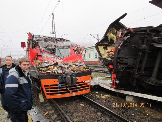 Train crash, Moscow region, Russia, photo 1
