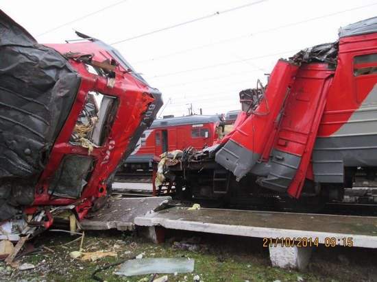 Train crash, Moscow region, Russia, photo 2