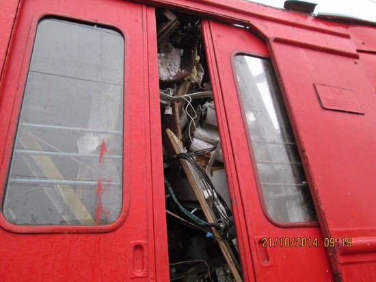 Train crash, Moscow region, Russia, photo 3