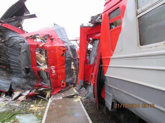 Train crash, Moscow region, Russia, photo 4
