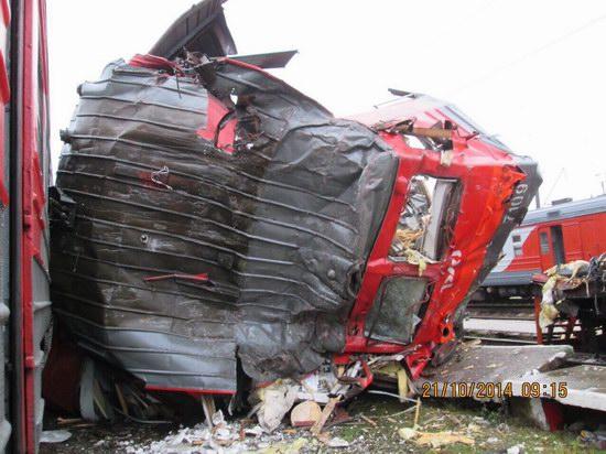 Train crash, Moscow region, Russia, photo 6