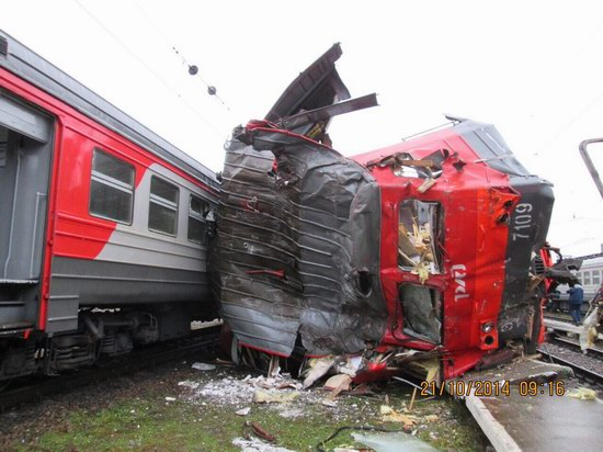 Train crash, Moscow region, Russia, photo 8