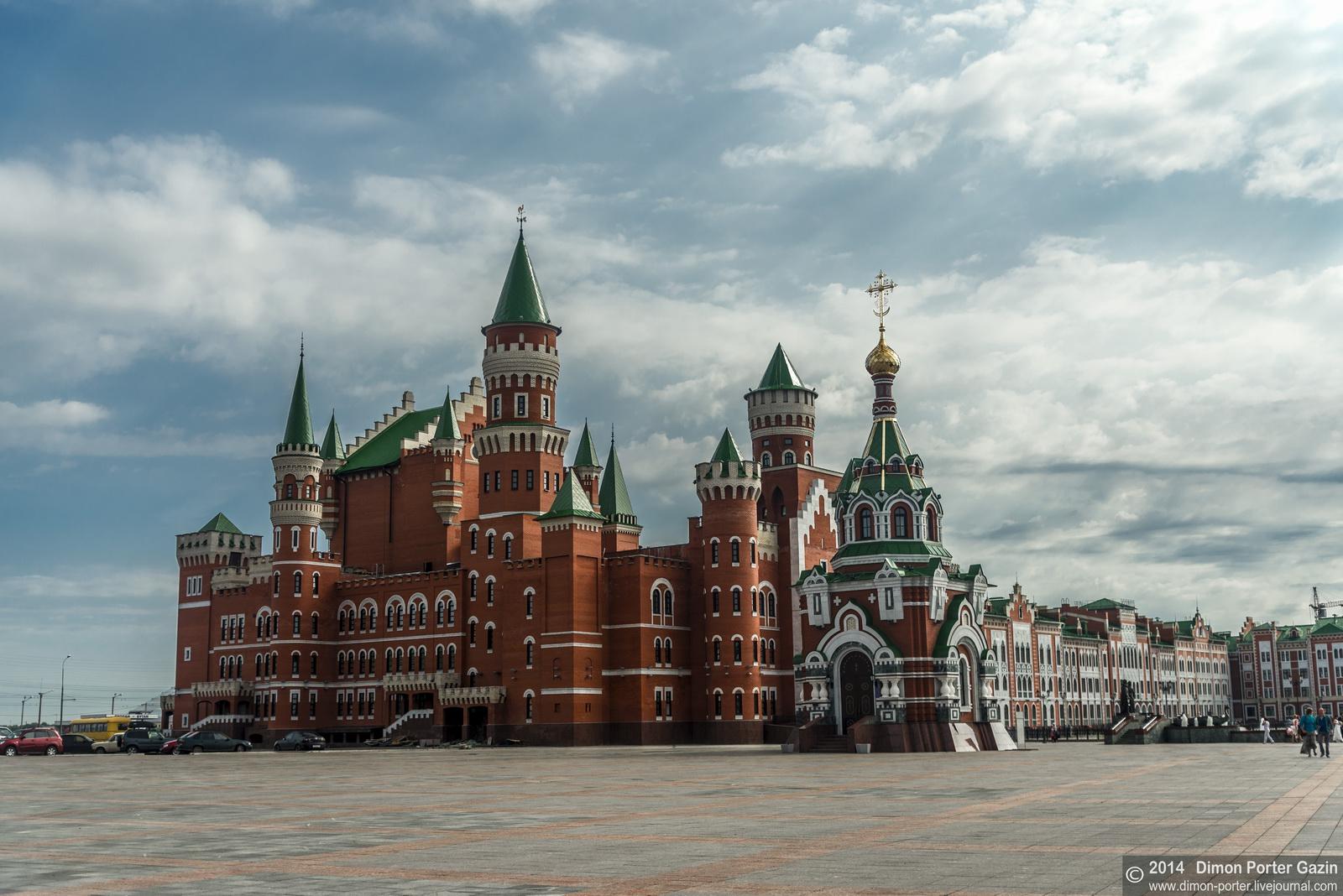 Two Castles Of Yoshkar Ola 183 Russia Travel Blog