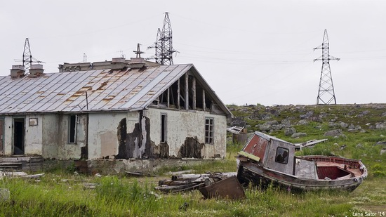 Abandoned Base of Murmansk Marine Biological Institute, Russia, photo 10