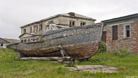 Abandoned Base of Murmansk Marine Biological Institute, Russia, photo 13