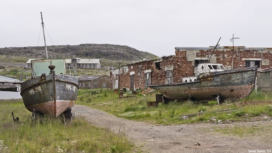 Abandoned Base of Murmansk Marine Biological Institute, Russia, photo 14