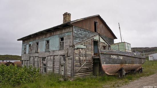 Abandoned Base of Murmansk Marine Biological Institute, Russia, photo 15