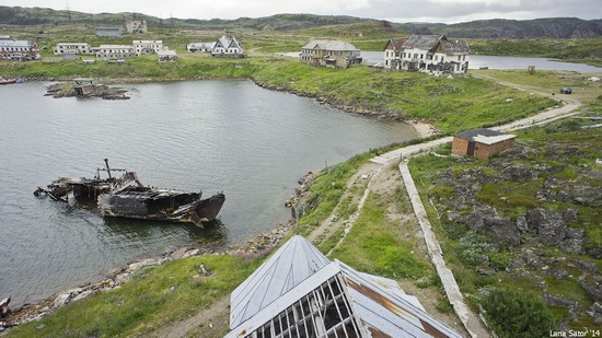 Abandoned Base of Murmansk Marine Biological Institute, Russia, photo 26