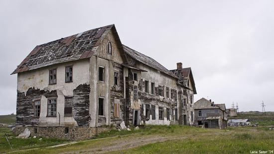 Abandoned Base of Murmansk Marine Biological Institute, Russia, photo 4