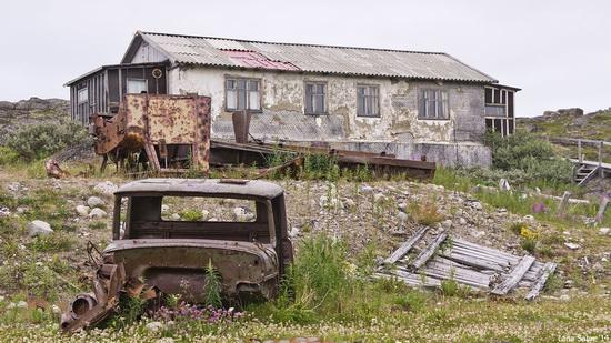 Abandoned Base of Murmansk Marine Biological Institute, Russia, photo 6