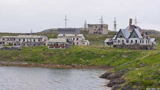 Abandoned Base of Murmansk Marine Biological Institute, Russia, photo 7