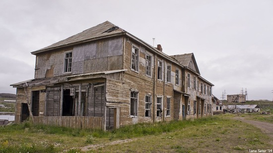 Abandoned Base of Murmansk Marine Biological Institute, Russia, photo 8
