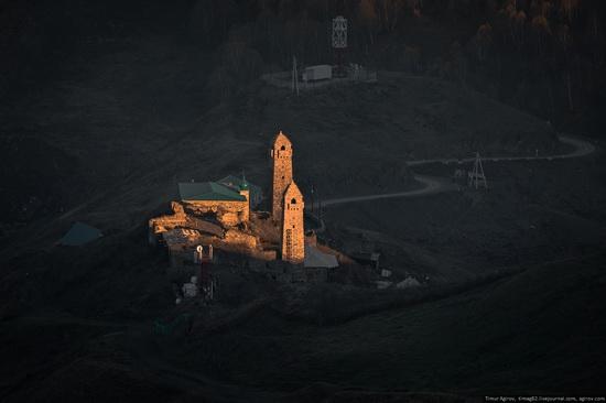 Mountainous Chechnya in late autumn, Russia, photo 3