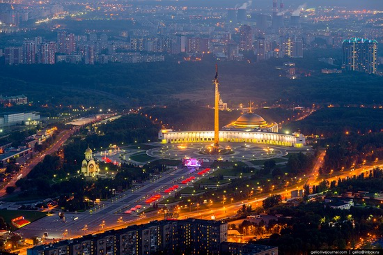 Bird's eye views of Moscow, Russia, photo 18