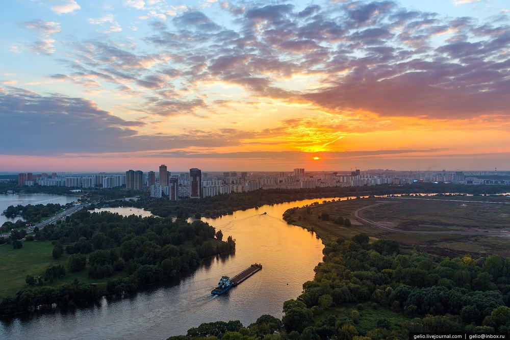 Bird's eye views of Moscow · Russia Travel Blog