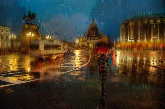 Feel the atmosphere of St. Petersburg, Russia