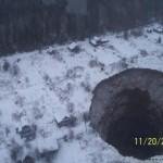 Giant sinkhole found near Solikamsk in Perm region