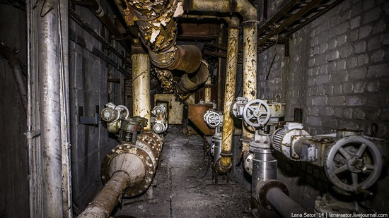 Abandoned nuclear heating plant in Nizhny Novgorod, Russia, photo 15