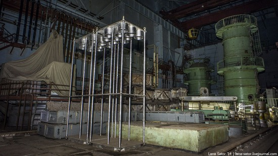 Abandoned nuclear heating plant in Nizhny Novgorod, Russia, photo 17