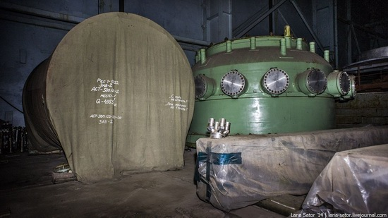 Abandoned nuclear heating plant in Nizhny Novgorod, Russia, photo 18