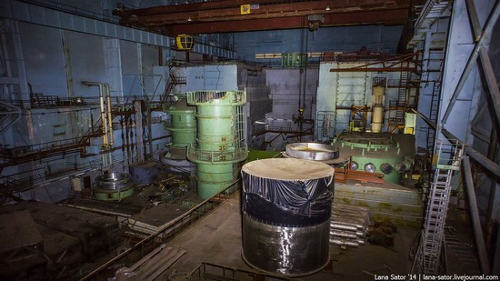 Abandoned nuclear heating plant in Nizhny Novgorod, Russia, photo 19