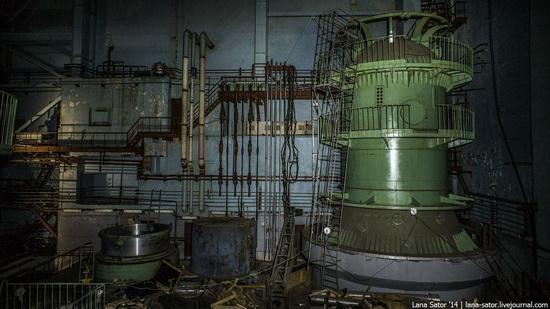 Abandoned nuclear heating plant in Nizhny Novgorod, Russia, photo 25