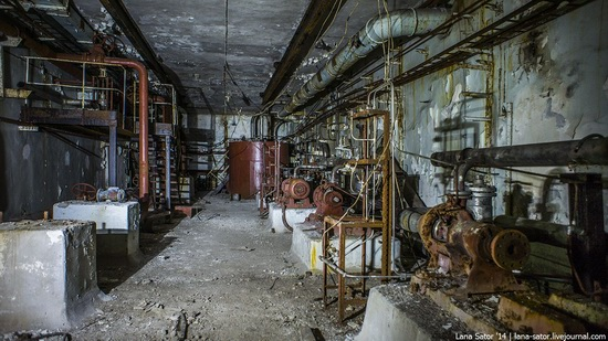 Abandoned nuclear heating plant in Nizhny Novgorod, Russia, photo 3
