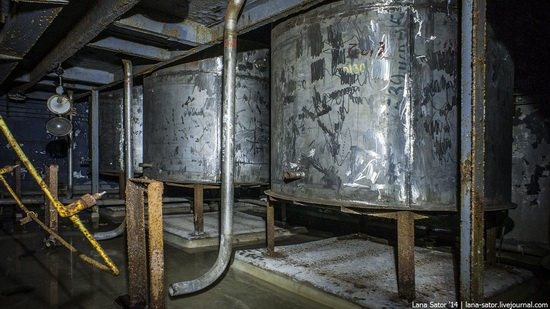 Abandoned nuclear heating plant in Nizhny Novgorod, Russia, photo 4