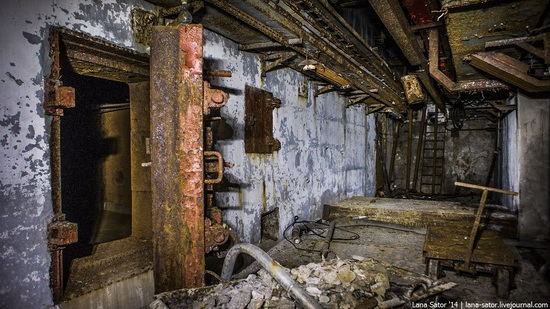 Abandoned nuclear heating plant in Nizhny Novgorod, Russia, photo 5