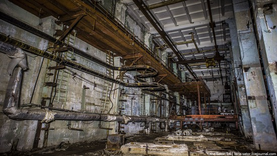 Abandoned nuclear heating plant in Nizhny Novgorod, Russia, photo 9