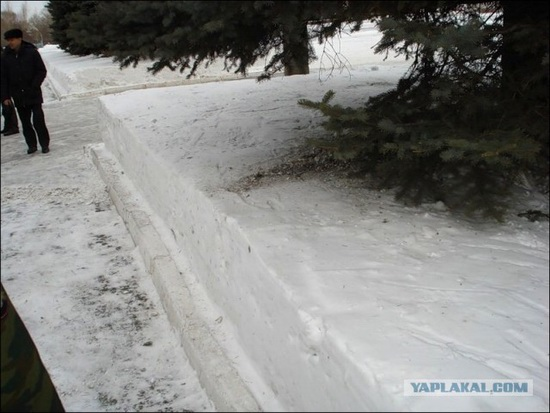 Square snowdrifts, the army of Russia, photo 10
