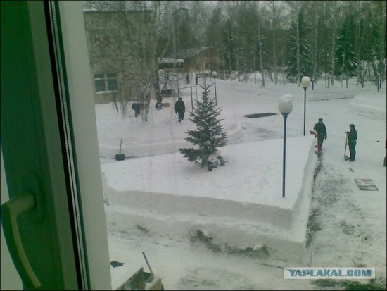 Square snowdrifts, the army of Russia, photo 11