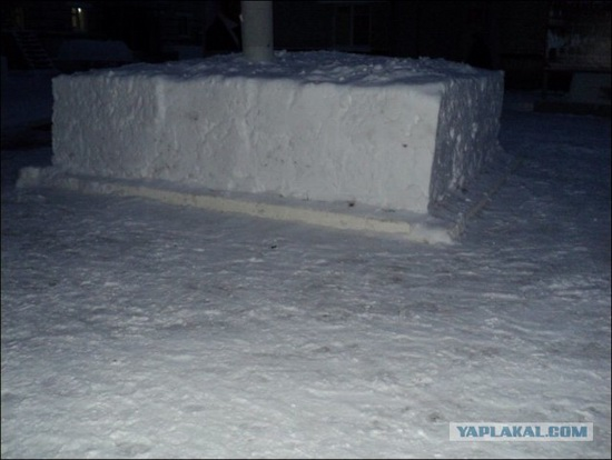 Square snowdrifts, the army of Russia, photo 4