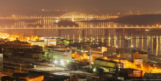 Night views of Novosibirsk, Siberia, Russia, photo 5