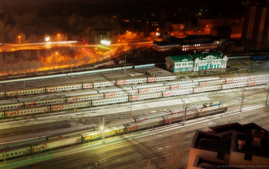 Night views of Novosibirsk, Siberia, Russia, photo 8
