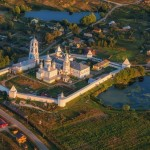 Let's fly over Pereslavl-Zalessky town