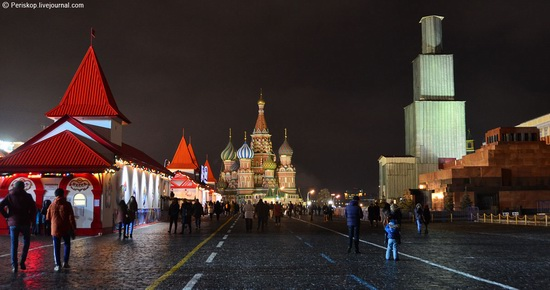 Spasskaya Tower of the Kremlin - the object of constructivism, Moscow, Russia, photo 12