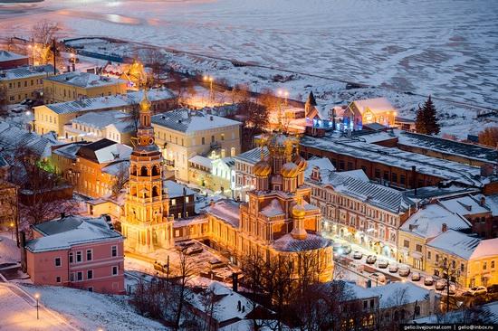 Winter in Nizhny Novgorod, Russia, photo 10