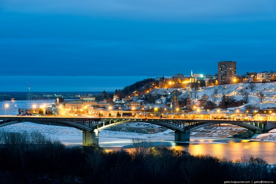 Winter in Nizhny Novgorod, Russia, photo 11