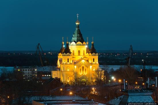 Winter in Nizhny Novgorod, Russia, photo 12
