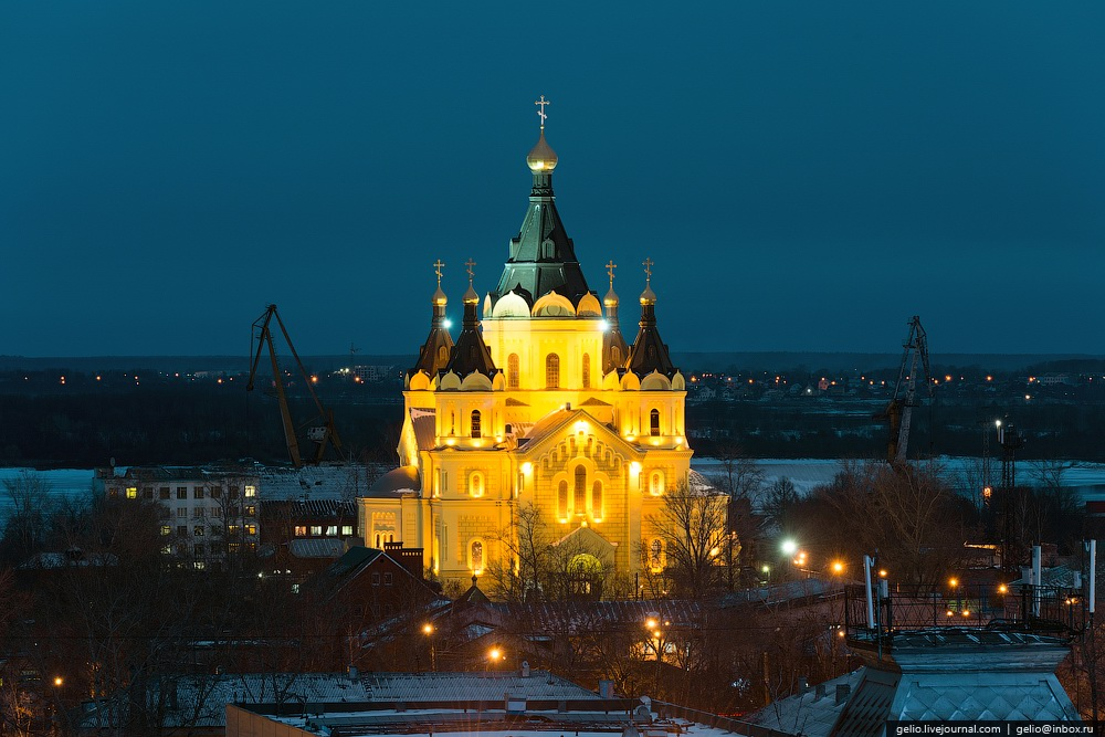Nizhny Novgorod Russia  city pictures gallery : Winter in Nizhny Novgorod · Russia travel blog